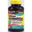 ACIDOPHILUS WITH BIFIDUS CHEWABLE WAFFERS (strawberry flavor)
