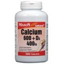 CALCIUM 600 + D3 400 TABLETS