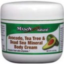 AVOCADO, TEA TREE & DEAD SEA MINERAL BODY CREAM