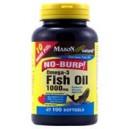 FISH OIL 1000MG OMEGA-3 NO BURP SOFTGELS