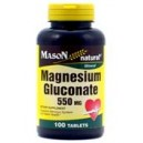MAGNESIUM GLUCONATE 550MG TABLETS