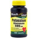 POTASSIUM GLUCONATE 595MG TABLETS