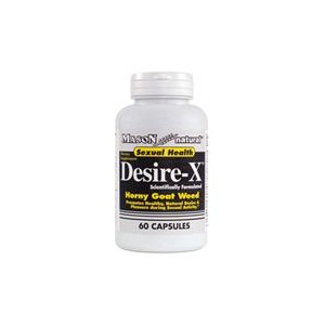 DESIRE-X WITH HORNY GOAT WEED CAPSULES