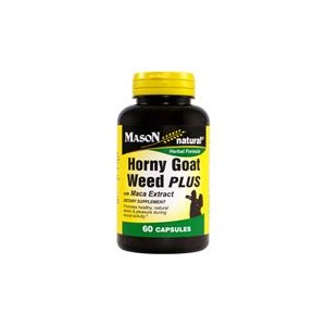 HORNY GOAT WEED PLUS WITH MACA EXTRACT CAPSULES