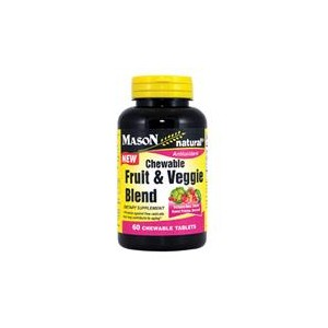 FRUIT AND VEGGIE BLEND CHEWABLE TABLETS